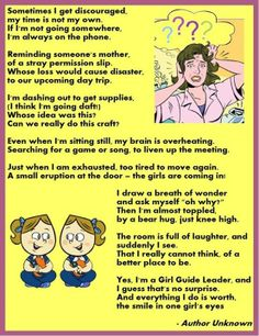 Activities and Ideas for Canadian Girl Guide Units Girl Scout Leader, Girl Scout Troop, Girl Scouts, Cub Scouts, Brownies Girl Guides, Brownie Guides, Brownie Quest Journey, Great Poems, Girl Scout Juniors