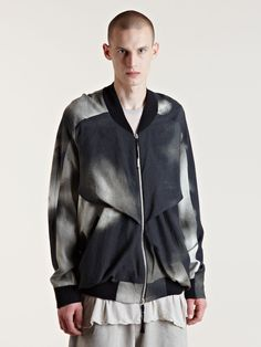 Damir Doma AW09 Two-tone Vent Jacket