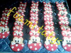 Invitaciones minnie mouse