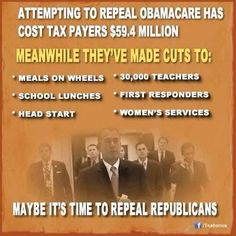 The Republican's healthcare plan. Don't Get Sick, If You Do: Die Quickly.