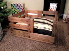 40+ DIY Pallet Dog Bed Ideas - Don't know which I love more | 101 Pallet Ideas - Part 3