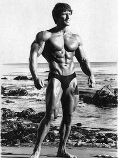 Frank Zane, one of the more graceful posers of all time.