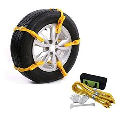 Auxmart 10Pcs Car Snow Chains Adjustable Anti Slip Tire Chain Snow Chains for Car with Tyre Width 145~285mm. For product info go to:  https://www.caraccessoriesonlinemarket.com/auxmart-10pcs-car-snow-chains-adjustable-anti-slip-tire-chain-snow-chains-for-car-with-tyre-width-145285mm/