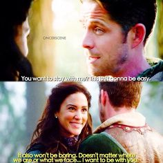 """[4x17 """"Heart Of Gold""""] Round 1 of my ship off: Millian or OutlawMaiden? Like the post of the ship you want to move on to the next round! - [#ouat #onceuponatime #seanmaguire #robinhood #marian #outlawmaiden #christielaing #oncersceneshipoffr1 ]"""