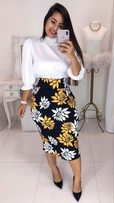 Women fashion Fall Casual Clothes - Women fashion Videos For Summer Party - Women fashion Outfits Indian Stylish Summer Outfits, Casual Work Outfits, Work Attire, Modest Outfits, Classy Outfits, Modest Fashion, Stylish Outfits, Dress Outfits, Fashion Outfits