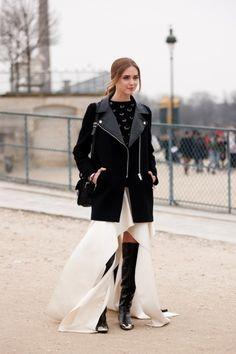 Photos: Best-Dressed Street Style at Paris Fall Fashion Week 2013   Vanity Fair