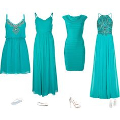 Turquoise Casual Dresses