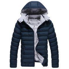 4 цветов Большой размер M-3XL зима утка пуховик мужчины мужская пальто зима бренд открытый мужской одежды casacos masculino 2014