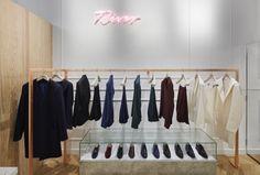 Das junge Modelabel Rives zeigte letzten Herbst seine erste Kollektion. Und hat für diese auch gleich einen eigenen Store eröffnet. In Paris.