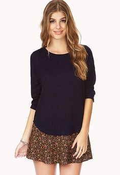 Laid Back Knit Top