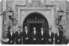 classic groomsmen at a Meadowbrook Hall wedding. http://silverthumbphoto.com/blog/allison-roni-married-gorgeous-meadowbrook-hall-wedding/