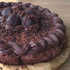 chocolate cake with chocolate and chocolate :)