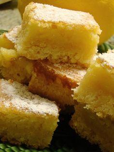Tangy & Sweet Lemon Bars Recipe