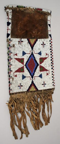 Pipe Bag from the Native American Collection at the UVa Art Museum