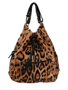 Jerome Dreyfuss Alain Leopard Print Bag Fashion Handbags Purses And Bags