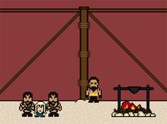 """""""Game Of Thrones""""' 14 Most Brutal Deaths, As 8-Bit GIFs"""