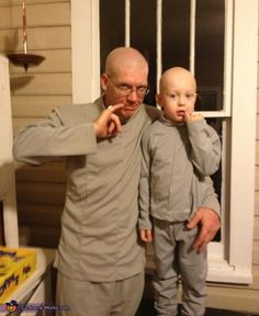 Dr. Evil - Homemade costumes for families