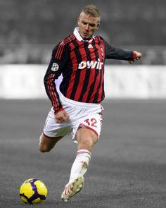AC-Milan-DAVID-BECKHAM-Glossy-8x10-Photo-Spotlight-Poster-Football-Print-Soccer
