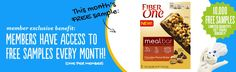 FREE $$ Sample of Fiber One Chocolate Peanut Butter Meal Bar (1st 10,000 Pillsbury Members – Check Your Inbox)!
