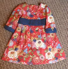 Oliver + S Library Dress