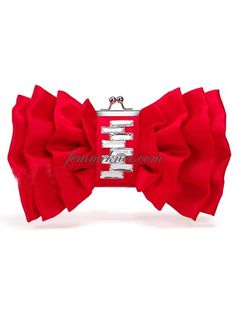 Red Clutch bag #cute#bow#eyecatching