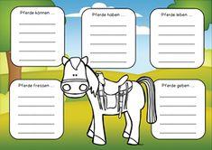 """Pferde: """"Einfach Lesen"""" für die 1.-2. Kl."""