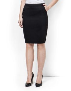 Tiger Of Sweden Ariela skirt - Women's pencil skirt in wool-stretch. Fully lined with two front pockets. Centre back vent. Slim fit with high waist. Hits just above the knee. Blue Pencil Skirts, Tiger Of Sweden, Midnight Blue, My Wardrobe, Slim, Women's Skirts, High Waist, Centre, Outfits