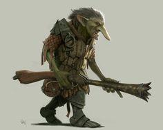 ArtStation - Rifle Goblin, Eugene Jung