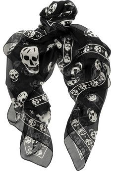 The perfect scarf to add a little kick to your winter look...