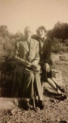 Grand Duke Gavril Konstantinovich Romanov of Russia (1887-1955) with Princess Marina Petrovna Romanova- Golitzine,of Russia (1892-1981),daughter of Grand Duke Peter Nikolaevich Romanov of Russia.