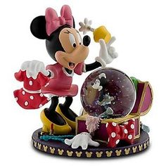 Disney Snow Globe - Minnie Mouse - Wardrobe Costume Chest