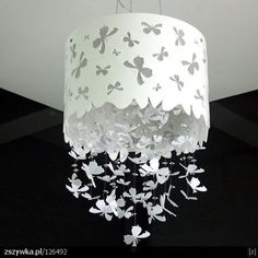 Papercut chandelier... love this!!