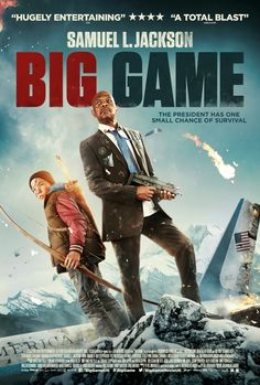 BIG GAME  When he becomes the prey of big game hunters, the US president's only hope of survival lies with a 13 year old Finnish boy.  Click the poster for our review