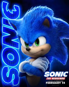 Sonic The Hedgehog is speeding into theatres for a big screen adventure for the whole family! Make sure to when the is in theatres February 14 starring Jim Carrey, Ben Schwartz, James Marsden and Tika Sumpter! Sonic The Hedgehog, Hedgehog Movie, Hedgehog Art, Sonic The Movie, The Sonic, Sonic Dash, Sonic Fan Characters, Cartoon Characters, Hedgehog Bedding
