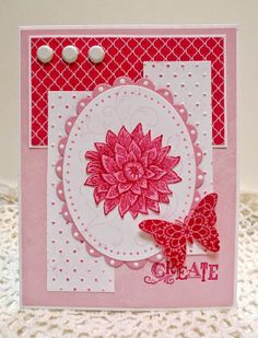 Stampin' Up! Creative Elements handmade card
