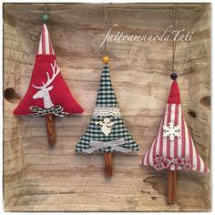 Alberelli natalizi by fattoamanodaTati