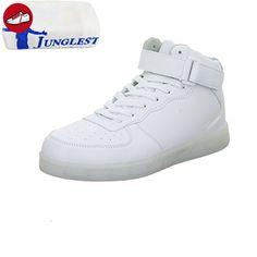 [Present:kleines Handtuch]Weiß (Weiß) EU 39, Schnürstiefelette LED-Sohle JUNGLEST® Boden 6145-Y wei