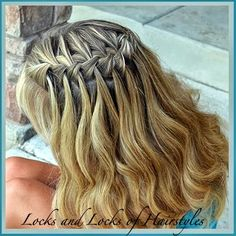 Locks and Locks of Hairstyles: Quick and Easy Video Tutorials: Bohemian Twist with a Rope Twist
