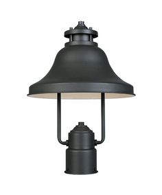"""View the Designers Fountain 31336-BZ 1 Light 11"""" Post Lantern from the Bayport Collection at LightingDirect.com."""