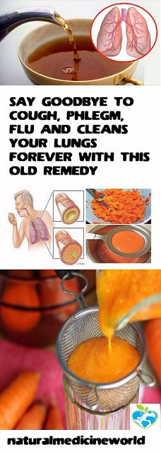 SAY GOODBYE TO COUGH, PHLEGM, FLU AND CLEANS YOUR LUNGS FOREVER WITH THIS OLD REMEDY