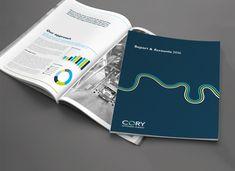 Cory Riverside Energy rebrand   Creative graphic & website design agency   Make Complex Simple