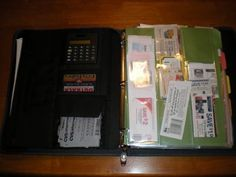 Another DIY coupon organizer with calculator included