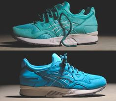 Ronnie Fieg x Asics Gel Lyte V-Mint and Cove