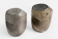 Margaret De Patta (1903-1964) Salt and Pepper Shakers, c. 1960 ceramic.