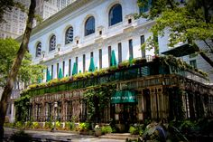 Bryant Park Grill; Midtown West (25 W. 40th St., New York, NY 10018  nr. Fifth Ave.)