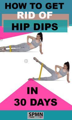 Workout Challange, Dip Workout, Flat Tummy Workout, Curves Workout, Belly Fat Workout, Hip Extension Exercise, Hip Dip Exercise, Fitness Workout For Women, Fitness Goals