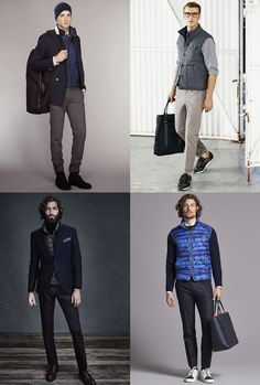 Men's Gilets and Bodywarmers Outfit Inspiration Lookbook