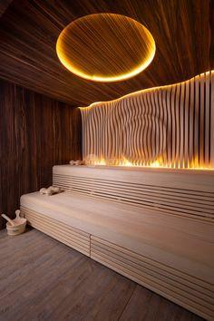 Sauna Steam Room, Sauna Room, Lap Pools, Indoor Pools, Backyard Pools, Pool Decks, Pool Landscaping, Swimming Pools, Sauna Design