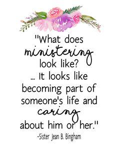 MINISTERING – The Idea Door