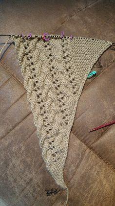 chrishardin's Fallen Cloud Baby Alpaca – Stricken Free Knit Shawl Patterns, Stitch Patterns, Knitting Patterns, Crochet Patterns, Lace Knitting, Knitting Stitches, Knitting Needles, Crochet Baby, Knit Crochet